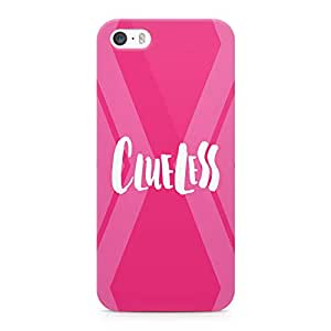 Loud Universe Clue Less Sleek Design Durable Wrap Around iPhone SE Case - Pink
