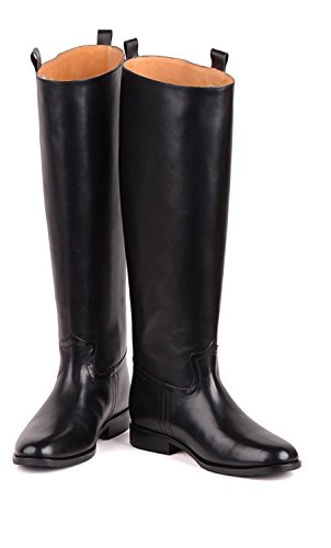GRB WW2 WWii German Boots WH/Waffen SS General Officer Leather Men's Black Jack Riding Boot, Customize Custom Made Your Elite Boots! Be Your Own Style,Be Your Only Style!