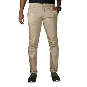 0-Degree Men's Regular Fit Chinos