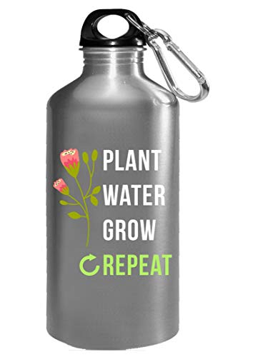 Funny Gardening Plant Water Grow Novelty Gift - Water Bottle