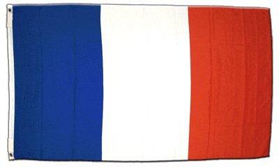 Flagge Frankreich - 60 x 90 cm Flaggenfritze
