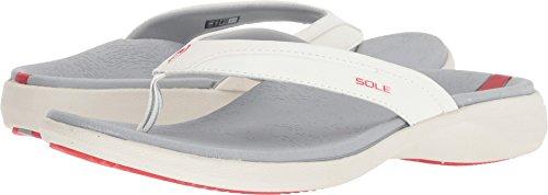 Womens Flips Sole Sandals (SOLE Women's Sport Flips Glow 5 B US)