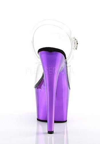 Clr Donna Sandali Chrome Pleaser purple wET8qn7