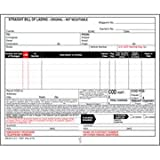 Straight Bill of Lading - Continuous, 3-Ply, Carbonless, 9-1/2'' x 7'' (Pkg Qty 500)
