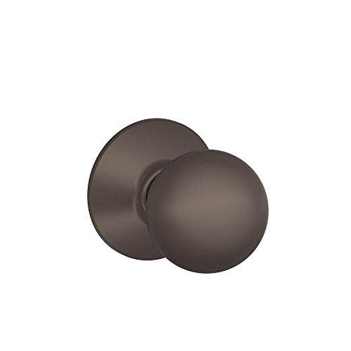 (Schlage F10ORB613 Orbit Passage Knob, Oil Rubbed Bronze)
