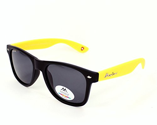 Mixte Black Yellow Smoke Multicolore Soleil Lunettes Montana de Lenses qnWRgBB