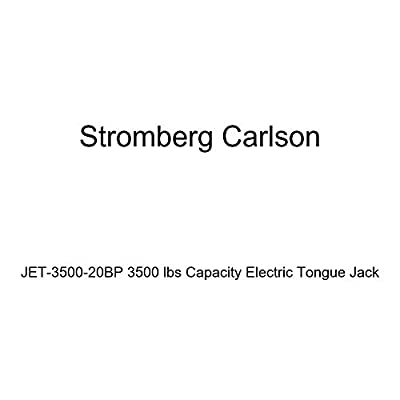 Stromberg Carlson JET-3500-20BP 3500 lbs Capacity Electric Tongue Jack