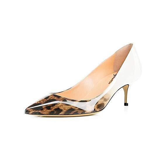 36 Femme 5 Compensées Beige Maguidern Sandales Leopard EU qp8RSnTw