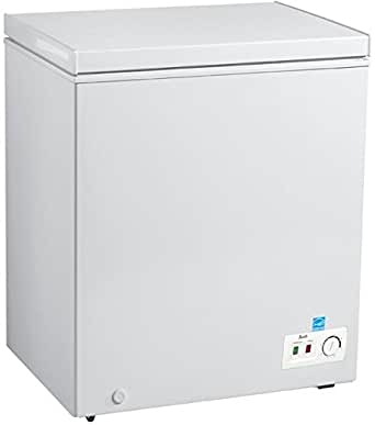 Avanti CF50B0W Freezer with 5.0 cu. ft. Capacity, White Door, Manual Defrost, Energy Star Certified in White