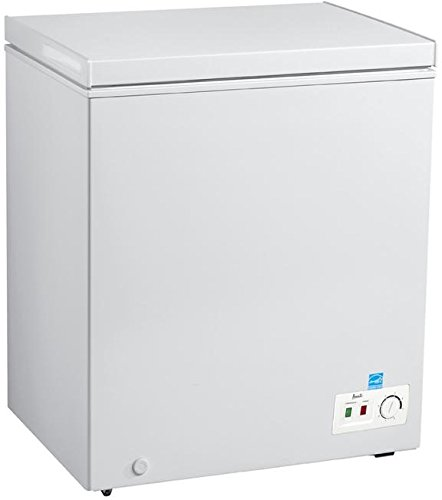 Avanti CF50B0W Freezer with 5.0 cu. ft. Capacity, White Door, Manual Defrost, Energy Star Certified in White by Avanti