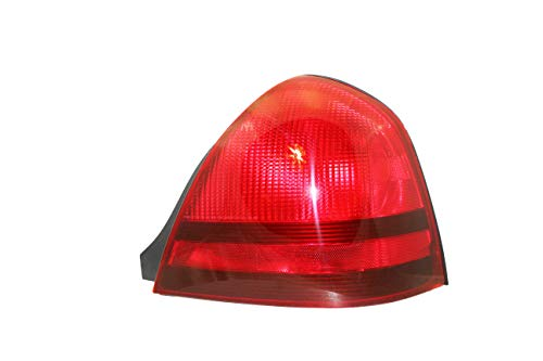 For 2003 2004 2005 2006 2007 2008 2009 2010 2011 Mercury Grand Marquis Rear Tail Light Taillamp Passenger Side Replacement Capa Certified