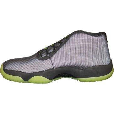 nike air jordan future mens hi top basketball trainers 656503 sneakers shoes (uk 6 us 7 eu 40, dark grey dark grey volt 025)