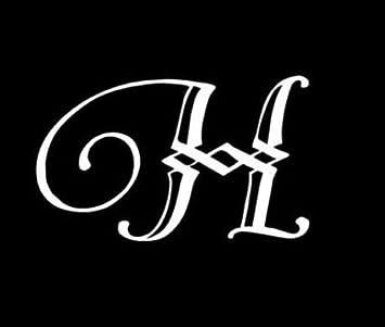 "5/"" LETTER /""S/"" vinyl decal car truck window laptop sticker initials name"