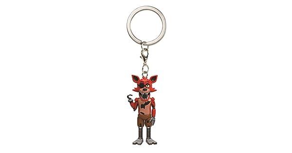 Amazon.com: Funko Five Nights at Freddy s Foxy Llavero ...