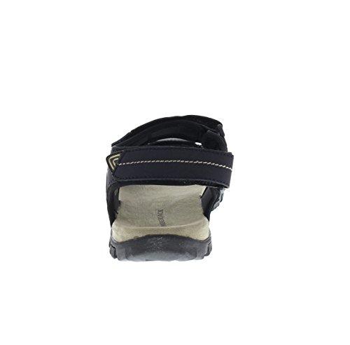 Sandalo Velcro Uomo 002 R93 Lumberjack Blu SM43006 7tq1xRwfR
