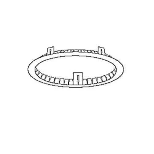 Juno Lighting ALG5 5-Inch Air-Loc Energy Conserving Gasket for IC Rated Housing