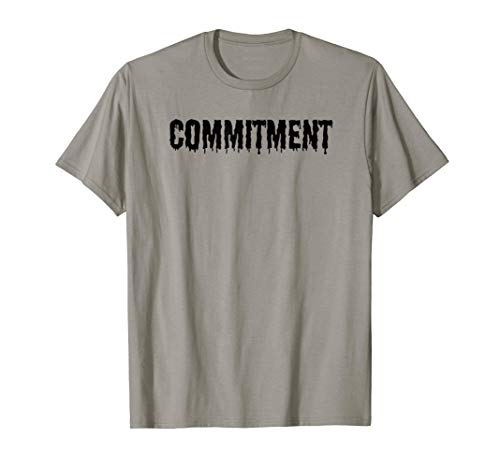 Commitment Funny Costume Tee | Scariest Costume Ever ()