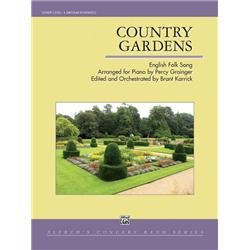 - Alfred Country Gardens Concert Band Grade 4 Set