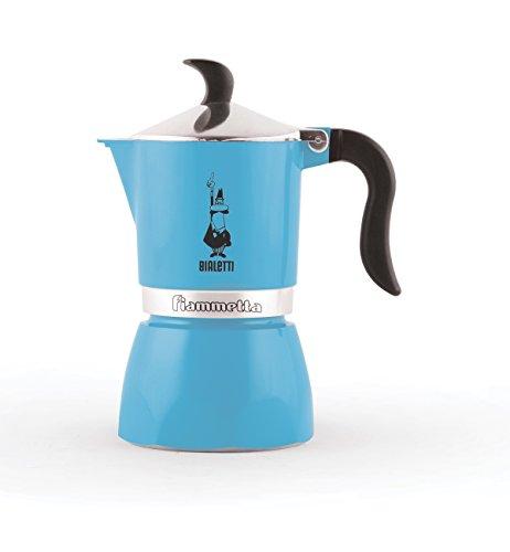 Bialetti 4632 Fiammetta Espresso Maker, Light Blue