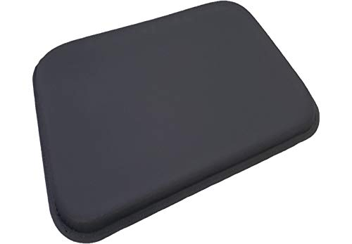 (ULTRAGEL® ANYWHERE, ANYTIME Arm/ Elbow/ Wrist Rest Gel Pads (5.5x7.5 , Black/Non-Slip ))
