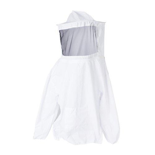 Meiyiu Beekeeping Jacket Veil Bee Protecting Suit Dress Smock Equipment