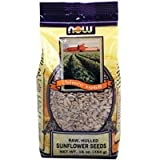 Sunflower Seeds Raw Hulled, Unsalted 1 lb by Now Foods (Pack of 3)