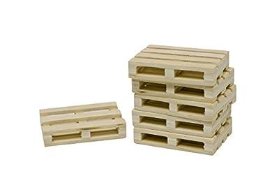 1:32 Set Of 8 Wooden Pallets