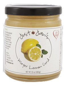 Just Jan's Meyer Lemon Curd English Clotted Cream