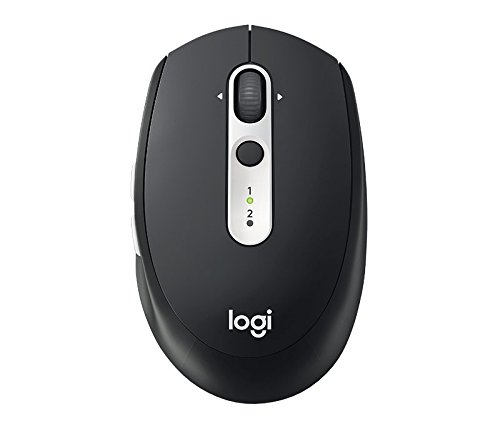 Logitech M585 Multi-Device Wireless Mouse – Control and Move Text/Images/Files Between 2 Windows and Apple Mac Computers…