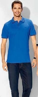 Genuine BMW Men's Polo Shirt - Blue - Size Medium