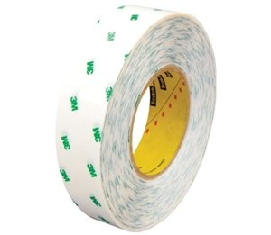3M Adhesive Transfer Tape 966 Clear, 4INX60YD (Pack of 1) by 3M
