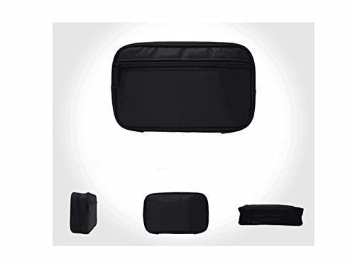 OVIIVO Memory Cases Mouse Headphone Data Cable Storage Power Banks Hard Drive Package Memory Card Cases Holder(Black) by OVIIVO