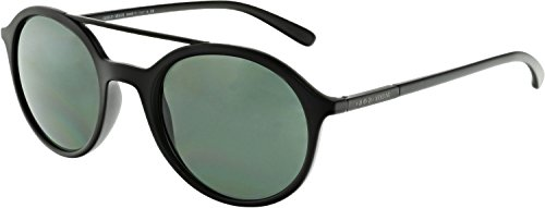 Giorgio Armani Mens Sunglasses (AR8077) Black Matte/Grey Plastic - Non-Polarized - - Giorgio Spectacles Armani