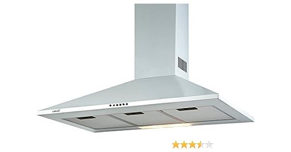 CATA OMEGA 600 WH De techo Blanco 645m³/h D - Campana (645 m³/h, Canalizado, D, F, B, 57 dB): Amazon.es: Grandes electrodomésticos