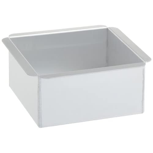 Ateco 6 by 6 by 3-Inch Professional Square Baking Pan