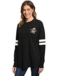 Jersey Women's Mickey or Minnie Mouse Long Sleeve