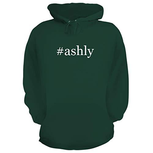 BH Cool Designs #Ashly - Graphic Hoodie Sweatshirt, Forest, XXX-Large