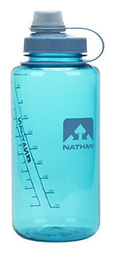 Nathan BPA Free Water Bottle/ Narrow & Wide Mouth Water Bottle, 32oz/ 1 Liter