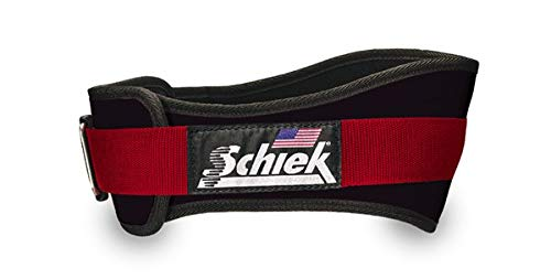3006 Power Lifting Belt (Red, Small) by Schiek (Image #1)