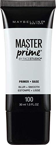 Maybelline Face Studio Master Prime Primer, Blur + Smooth, 1 Fluid Ounce