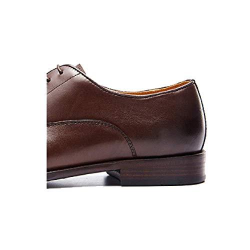 De Hombres Hechos Para A Zapatos Black Mano Boda Cuero Comfort Oxford Negocios qOdwnZt