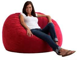 31uAPbWG79L - Large-XXL-Size-Red-Color-Comfort-Suede-Bean-Bag-Chair-Cover-Only-by-Ink-Craft