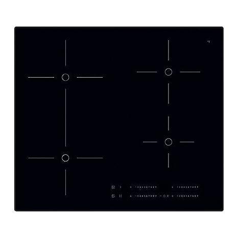 Ikea smaklig piano cottura a induzione in Nero; con funzione Bridge ...