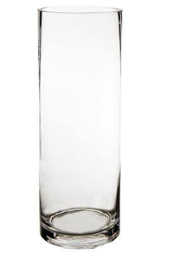Amazon Cys Gcy05514 Glass Hand Blown Cylinder Vase Wholesale