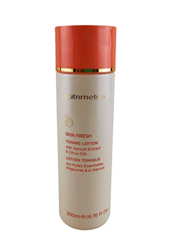 Nutrimetics Skin Fresh Toning Lotion With Apricot Extract Citrus Oils 200Ml