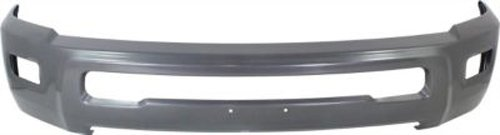 - CPP Painted Gray Steel Front Bumper for Dodge Ram 2500, Ram 2500, 3500 - CH1002392
