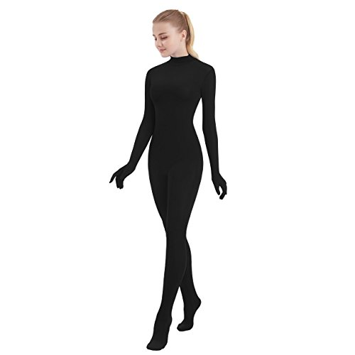 SUPRNOWA Womens One Piece Unitard Full Body Suit