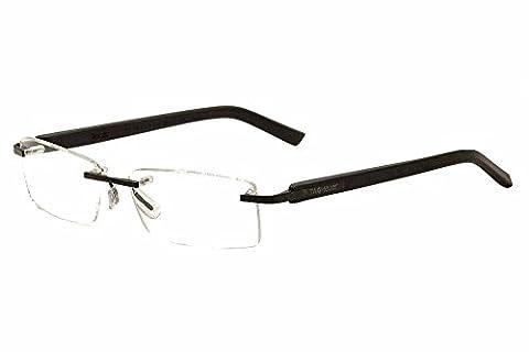 Tag Heuer Trends Rubber 8109 Eyeglasses 001 Black/Black (Tag Heuer Women Black)