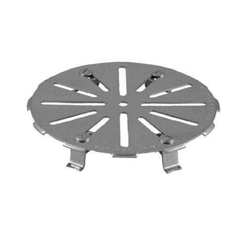 Generic 11529 Floor Drain Strainer Round Adjustable Stainless Steel Commercial 7.5''