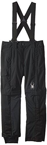 Spyder Training Pants - Spyder Boys Training Pant, 8, Black